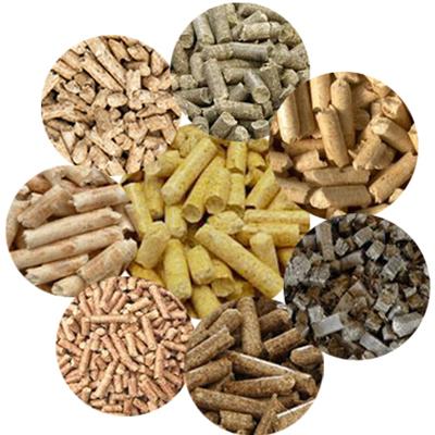 fermentation residue pellets