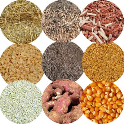 make biomass pellets from fermentation residues