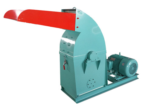 Wood Hammer Crusher Machine