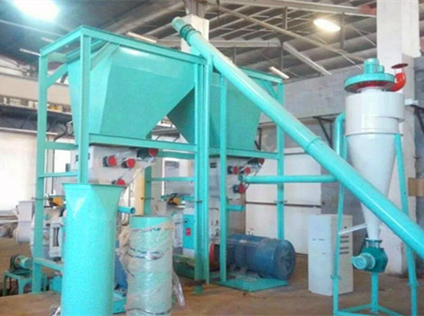 2T/H Giant King Grass Pellet Production Line