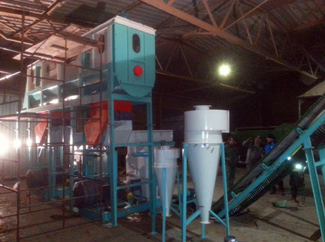 2T/H Straw Pellet Production Line