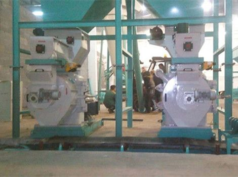 3T/H Sawdust Pellet Production Line