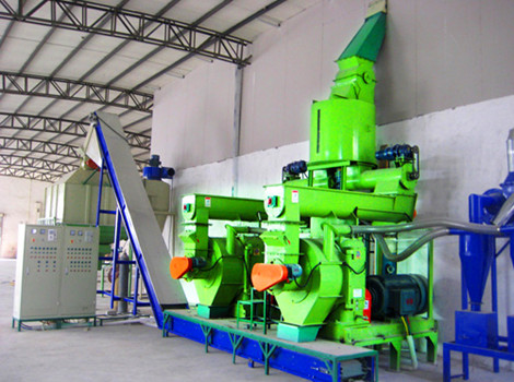 3T/H Giant King Grass Pellet Production Line