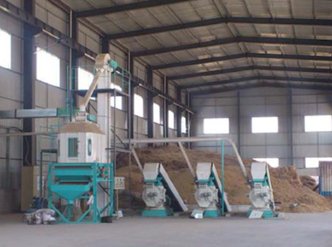 4-5T/H Palm Biomass Waste Pellet Plant
