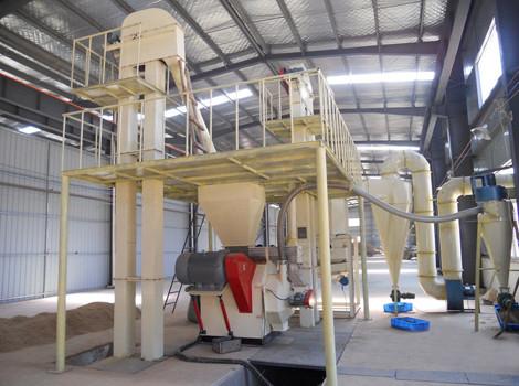 500kg/h Coconut Shell Pellet Line