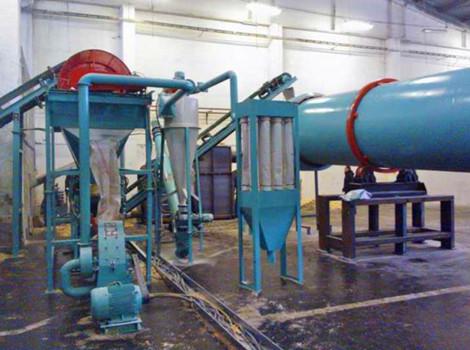 800-1000kg/h Straw Pellet Plant