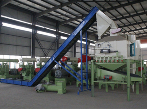 9-10T/H Sawdust Pellet Production Line