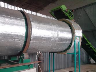 palm biomass waste drying machine
