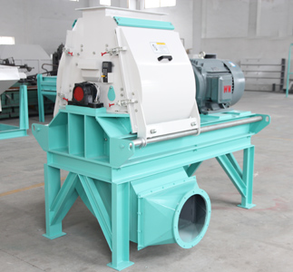 palm wood hammer mill