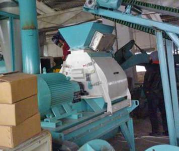 pine wood hammer mill