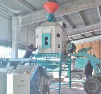 pine wood pellet cooling machine