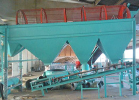 rotary drum screen for sawdust