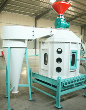 straw pellet cooling machine