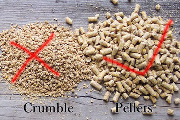 How to Avoid Pressing Powdered Wood Pellets